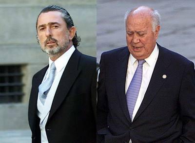 Correa y Alvaro Lapuerta, tesorero del PP