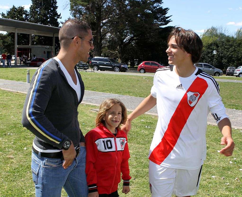 Diego Pablo, Giovanni y su otro hijo