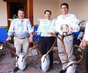 Los constructores F. Colado, Julián Jiménez y Marjaliza