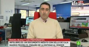 El periodista Tono Calleja
