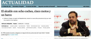 """El patrimonio """"motorizado"""" de Willy, descubierto"""