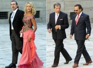 Cabecillas de la Gürtel en la boda de Anita Aznar