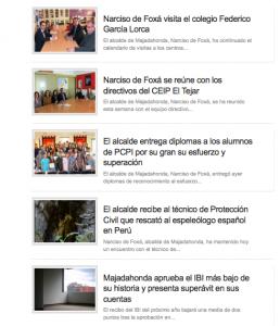 Noticias de Narciso de Foxá en el periódico que pagaba con dinero del ayuntamiento
