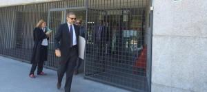 Soto, a la salida del juzgado de Majadahonda