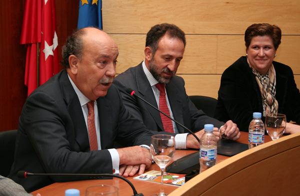 Gema Matamoros en un acto oficial en Las Rozas