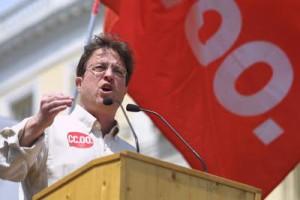 Javier López (CC.OO); pactos con Tejada