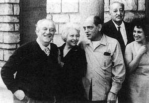 La pareja, con Buñuel