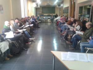 Asamblea de la Candidatura celebrada el domingo