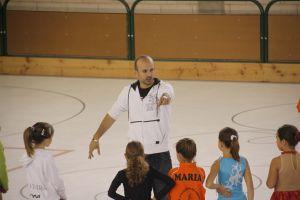 Albert Palau en un entrenamiento