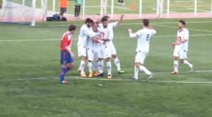 Borja Acha marcó otro espectacular gol