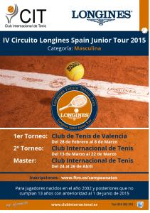 Calendario de Torneos del CIT.