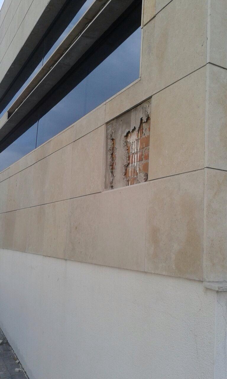 El edificio de la seguridad social en majadahonda con grietas - Edificio atica pozuelo ...