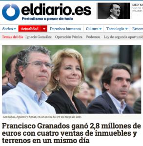 """La noticia en """"Eldiario.es"""""""
