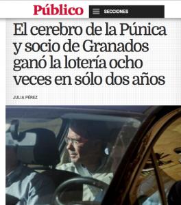 """La noticia en """"Publico.es"""""""