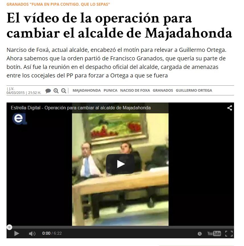 Vídeo PP majadahonda