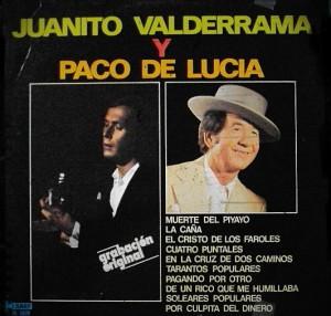 El padre de Juan Valderrama y Paco de Lucía ya grabaron juntos