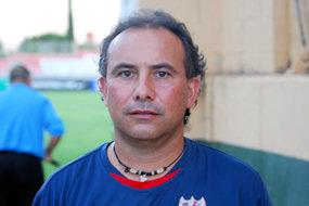 Pedro Calvo, entrenador del juvenil B