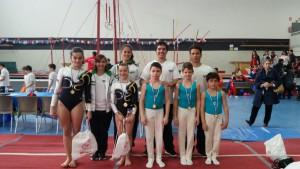 atletas de la Escuela Gimnasia Majadahonda