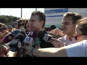 Francisco Granados (hoy en prisión) y Narciso de Foxá, en Majadahonda