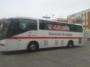 Autobús de Cruz Roja en Jardinillos