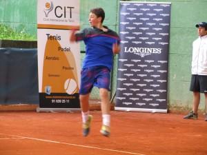 Cobacho disputó una gran final en el CIT de MJD