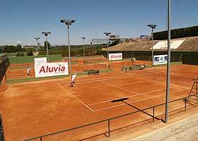 La tierra batida del CIT es conocida en el tenis internacional