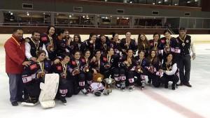 Hockey  sobre hielo femenino