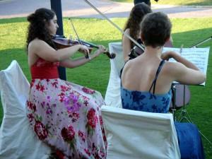 Ana Valdés Carsí, violista egresada del Conservatorio Profesional de Música de Majadahonda