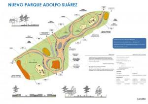 Parque Adolfo Suarez, frente al recinto ferial