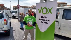 José Rodríguez, cabeza de lista de VOX en Majadahonda