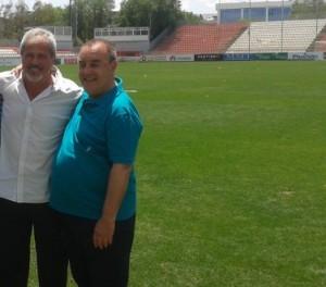 Antono Iriondo y Enrique Vedia