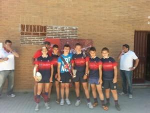 Equipo de alevines del Club de Rugby Majadahonda