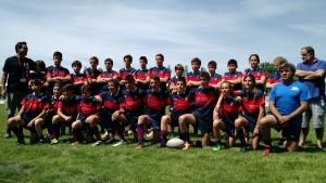 Campeonato de España realizado en Valladolid con los alevines del C. R. Majadahonda