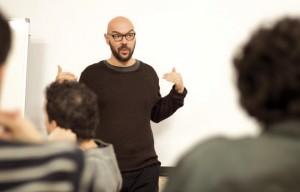 Luca Nichetto y los alumnos de IED Flat
