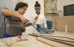 María Mallo de Mecedorama, trabajando con los alumnos de IED Flat