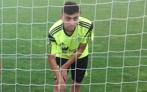 Munir regresó a Madrid con el Barca