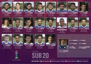 sub20 argentina