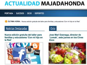"""Última portada del diario """"zombie"""" de Alejandro de Pedro en Majadahonda"""