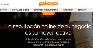 EICO se anunciaba así en internet