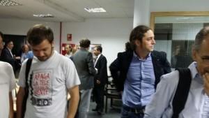 Patricio Mackey, Juancho Santana y Alberto Moreno