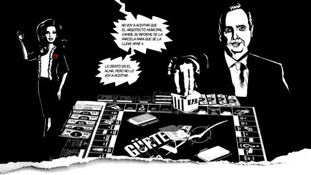 Guillermo Ortega ha sido protagonista hasta de una viñeta de comic