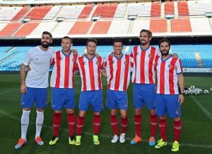 Basilio, Josemi, Arnal, Luis García, Borja Fernández y Jofre, los españoles del Atlético de Kolkata