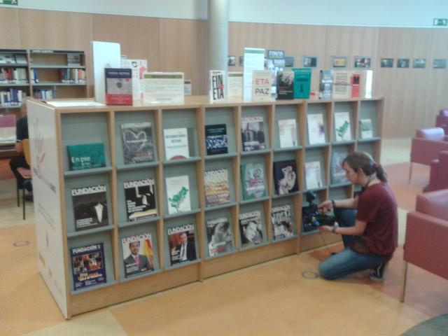 El espacio MA Blanco en la biblioteca
