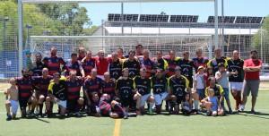 Equipo Classics del Club de Rugby de Majadahonda
