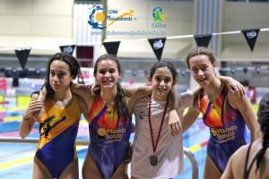 Campeonas de natación