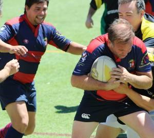 Partido del Club de Rugby de Majadahonda contra los Sotosaurios