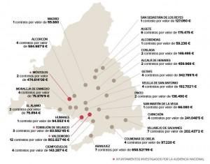 Los contratos de Waiter Music en la Comunidad de Madrid: la UCO no incluyó los que ha encontrado el PSOE majariego