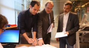 Aguado (Cs), Gabilondo (PSOE) y López (Podemos): unidos contra la corrupción autonómica