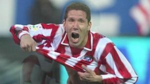 Simeone, jugador