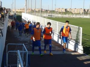Acho, Tomy Prieto y Juan Carlos, juveniles en el 2ª B